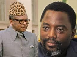 Kabila et Mobutu